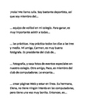 Extracurricular Activities: Paragraph Unscramble (Realidades 2 Chapter 1B)