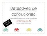 Extraer conclusiones (drawing conclusions) 1 Grado