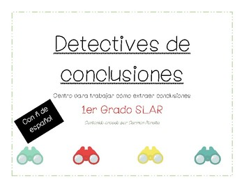 Extraer conclusiones (drawing conclusions) 1 Grado