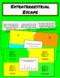 Extraterrestrial Escape Digital Breakout (6th Grade Statistics)