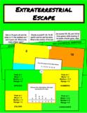 Extraterrestrial Escape Digital Breakout (6th Grade Statistics)