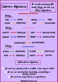 Extreme Adjectives Poster