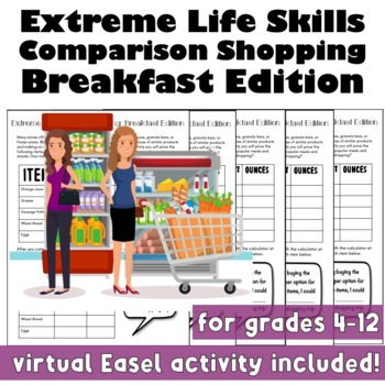 Extreme Comparison Shopping: Breakfast Edition