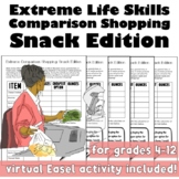 Extreme Life Skills Comparison Shopping: Snack Edition