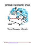 Extreme Conversation Drills - Geography of Canada
