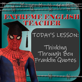Extreme English Teacher - Ben Franklin Quotes