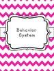 Owl Chevron Classroom Theme Printable Decor Kit