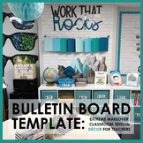 Extreme Makeover Classroom Edition Decor: Work That Rocks
