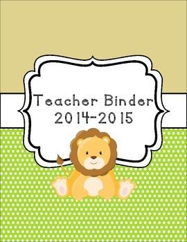 Safari Classroom Theme Printable Decor Kit