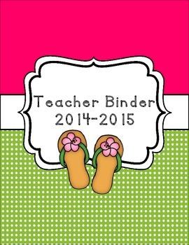 Beach Luau Classroom Theme Printable Decor Kit