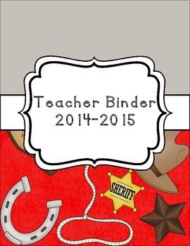 Western Classroom Theme Printable Decor Kit Wild West