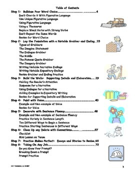 Extreme Makeover Writing Edition ~ Mini Lessons and Revision Practce