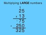 Extreme Multiplication 2digit x 2 digit