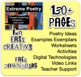 Extreme Poetry - Fantastic Ideas, exemplars and links.
