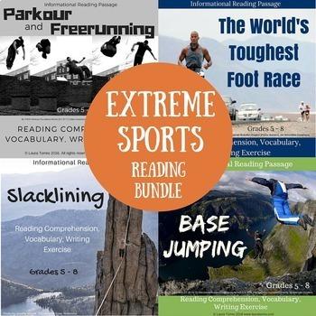 Extreme Sports Informational Reading Bundle