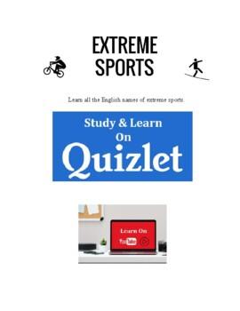 Extreme Sports - Vocabulary Worksheets
