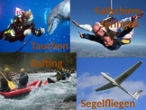 Extreme Sports - vocabulary with pictures