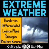 Extreme Weather 5E Science Unit Plan for Third Grade