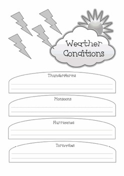 Extreme Weather: A Thematic Notebooking Unit