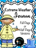 Extreme Weather Booklet or Journal Freebie!