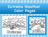 Extreme Weather Color Pages