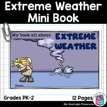 Extreme Weather Mini Book for Early Readers