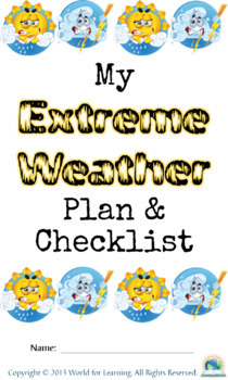 Extreme Weather Mini Unit Study