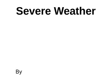 Extreme Weather PowerPoint