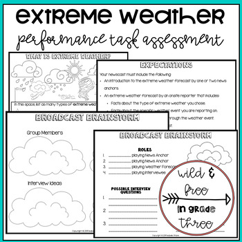 Extreme Weather Summative Authentic Performance Assessment
