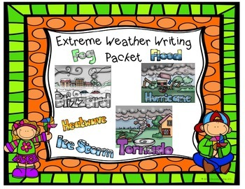 Extreme Weather Writing ~ Common Core Aligned