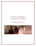 "Extreme Writing: Persuasive Writing ""All New Passat"""
