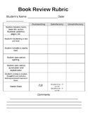 Extremely Easy Book Review Rubric