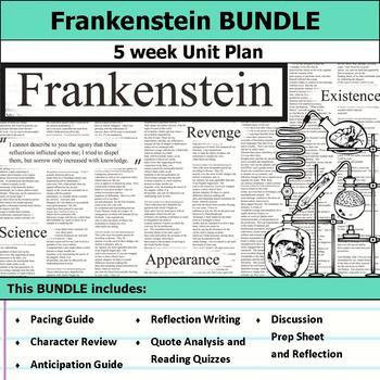 Frankenstein Plot Teaching Resources Teachers Pay Teachers