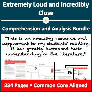 Extremely Loud and Incredibly Close – Comprehension and Analysis Bundle