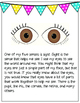 Eye Anatomy Reading and Vocabulary Activity for Kids