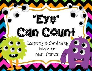 """""""Eye"""" Can Count - Monster Math Center"""