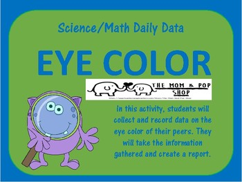 Eye Color Science/Math Daily Data