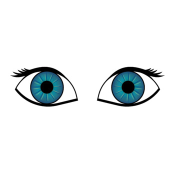 Eye Colors in French PRINTABLES (PDF and PNG)