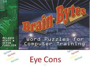 Eye Cons : Visual Brain Teasers, Brain Breaks, or Puzzles for Computer Classes