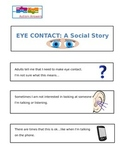 Eye Contact- A Social Story- Autism Answers