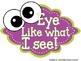 Eye Like What I See {Behavior Management System}