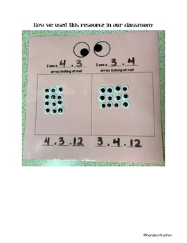 Eye Multiplication Array Understanding