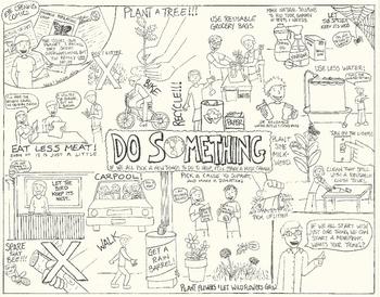Eye Opening Comic - Do Something