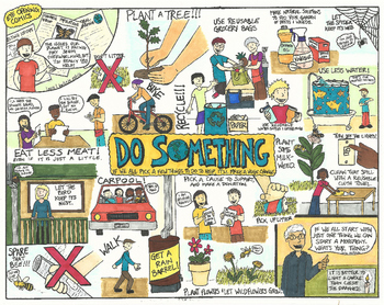 Eye Opening Comic - Do Something (Earth Day Comic)