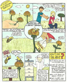 Help the Honeybee Comic (Special Earth Day Comic)