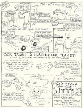 Eye Opening Comics- Litter
