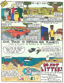 Eye Opening Comics- Litter (Special Earth Day Comic)