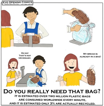 Eye Opening Comics- Plastic Bags (Part One)