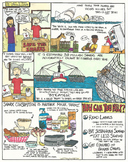 Eye Opening Comics- Save the Sharks (Shark Week)