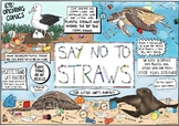 Eye Opening Comics- Say No To Straws (Earth Day Special)